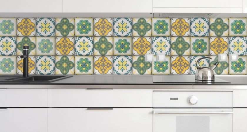 Moroccan Tiles Stickers Pack Tile Decals