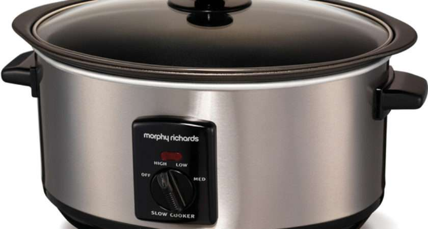 Morphy Richards Sear Stew Slow Cooker Stainless