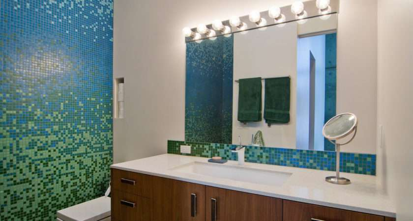 Mosaic Bathroom Ideas Designs Design Trends Premium Psd