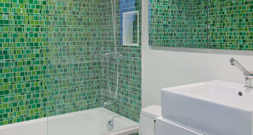 Mosaic Bathroom Tile Home Design Ideas Remodel Decor