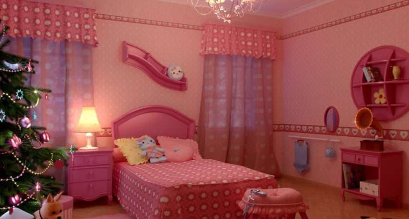 Most Beautiful Bedrooms Girls Red Home Combo