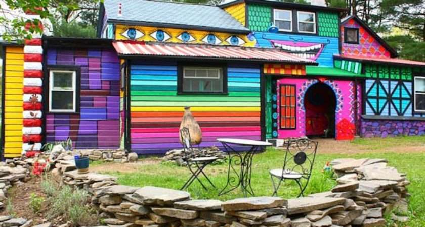 Most Colorful Houses Around World