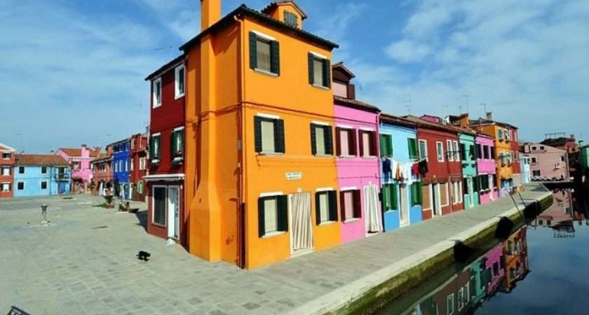 Most Colourful Towns Cities Europe Culture Map