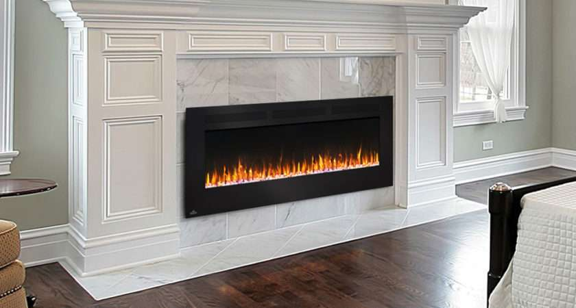 Napoleon Allure Wall Mount Electric Fireplace Nefl