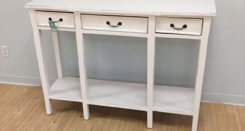 Narrow Console Table Tall Nadeau Alexandria