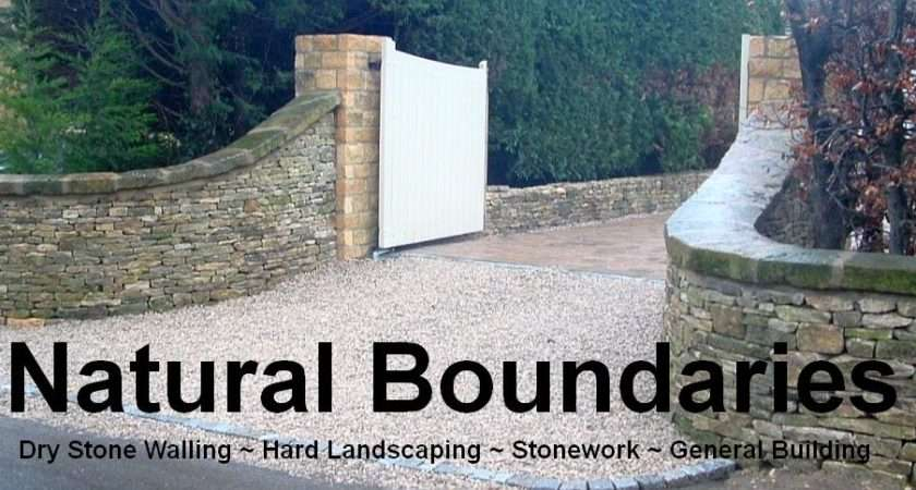 Natural Boundaries Dry Stone Walling Garden Features