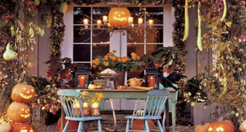 Natural Halloween House Decorating Ideas Kitchentoday
