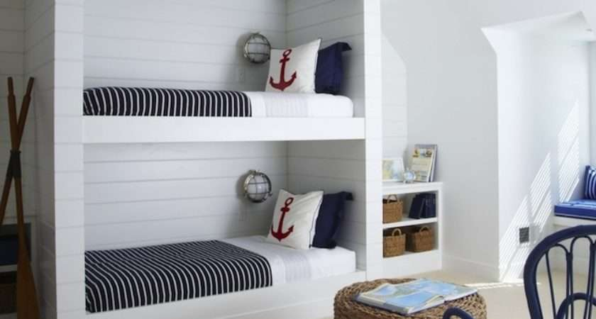 Nautical Built Bunk Beds Cottage Boy Room Lynn