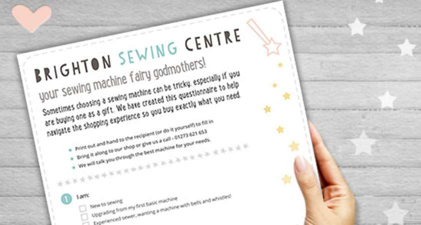 Need Help Choosing Sewing Machine Brighton Centre