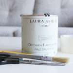 Need Table Laura Ashley Paint Scissors Brush Masking Tape