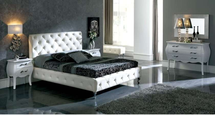 Nelly White Bedroom Furniture Set Dupen Spain