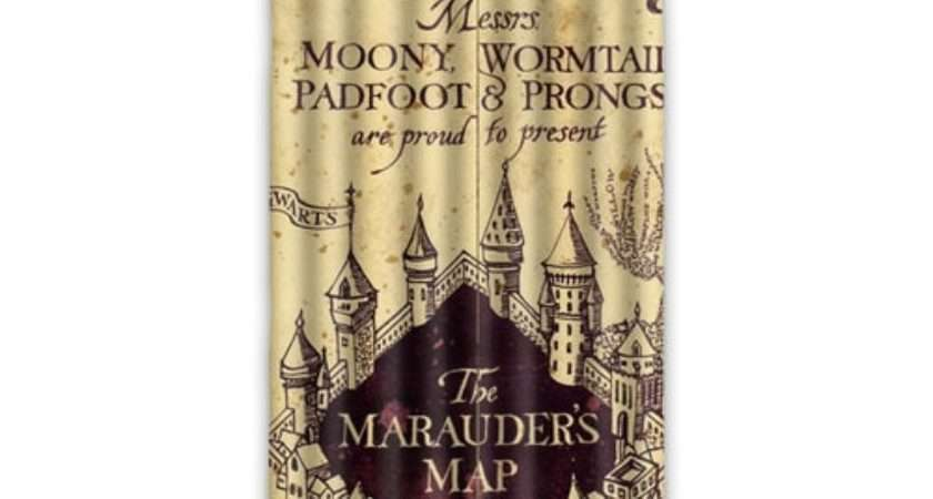 New Arrival Marauder Map Harry Potter Curtain Window