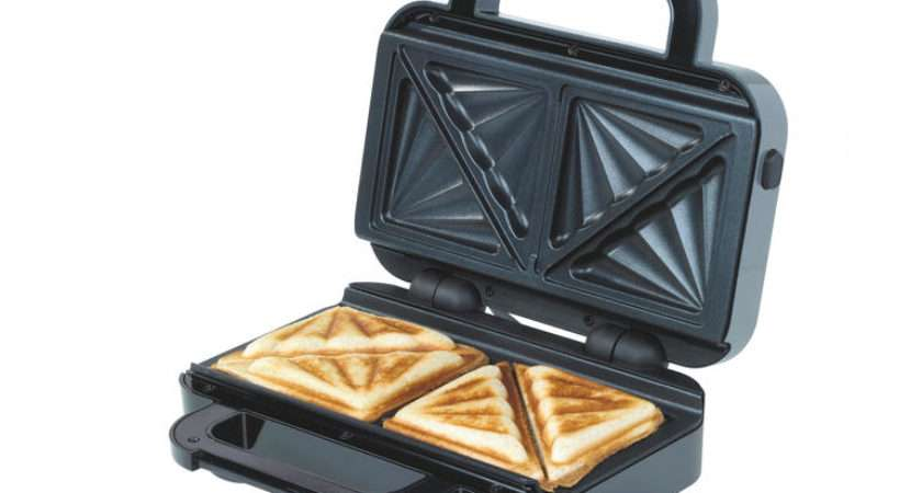 New Breville Deep Fill Sandwich Toaster Crams Double Filling
