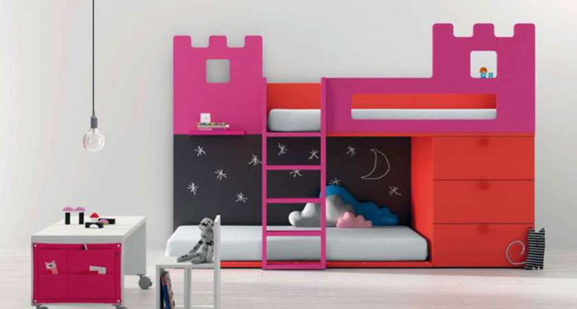 New Bright Furniture Cool Kids Room Designs