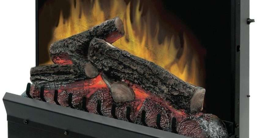 New Dimplex Electric Lighted Fireplace Insert Heater