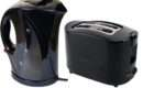 New Electric Cordless Jug Kettle Slice Toaster Kitchen Set Gloss