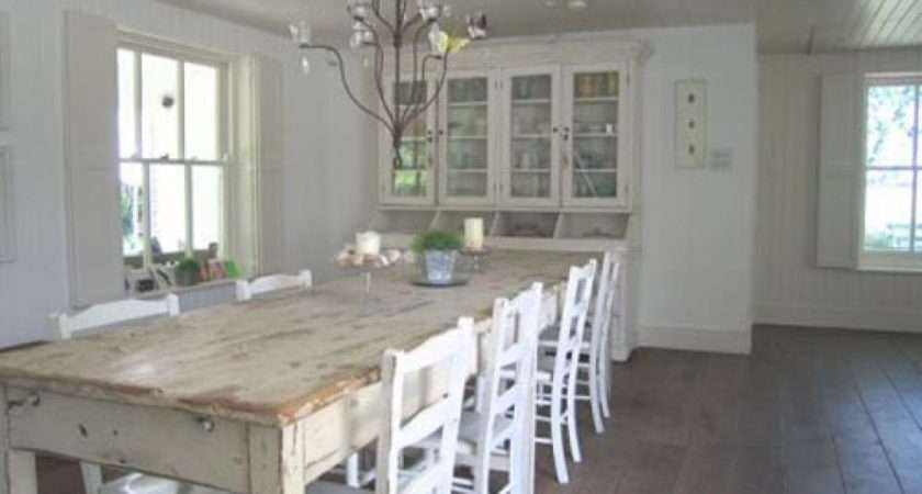 New England Style House Dining Room Design Interior