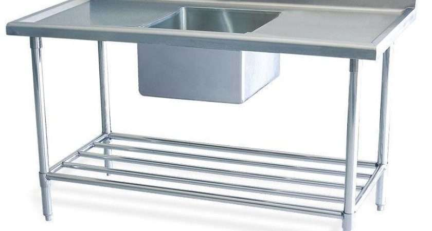 New Stainless Steel Commercial Catering Kitchen Sink Unit