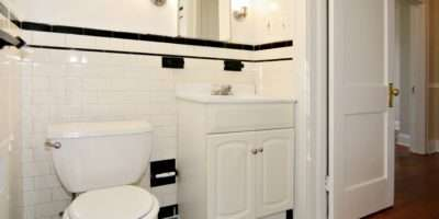 New Tile Floors Often Used Bathrooms Our Baltimore