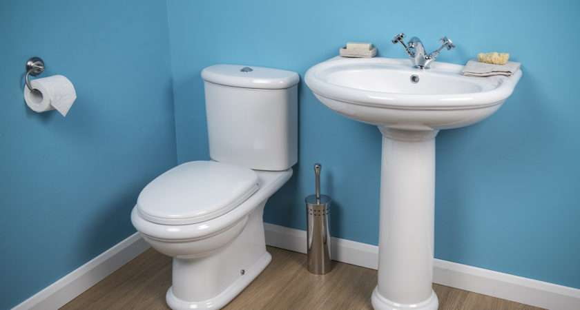 New Traditional Cloakroom Bathroom Suite Toilet Basin