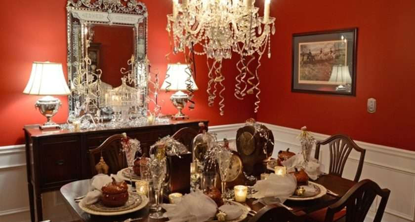 New Year Eve Table Setting Tablescape