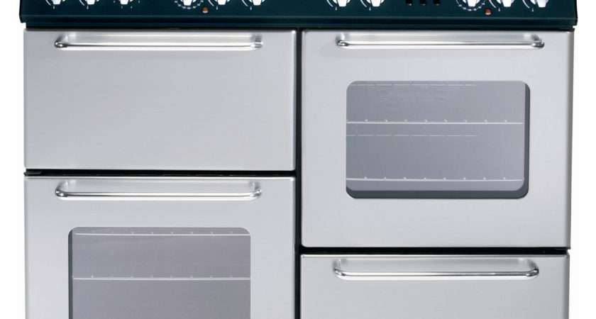 Newworld Gas Range Cooker Silver