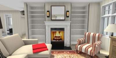 Nice Feature Wall Ideas Living Room Fireplace