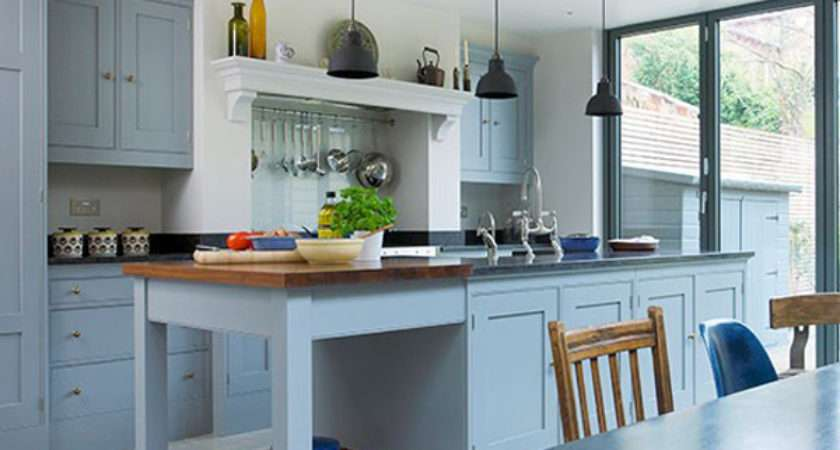 Nicely Painted Kitchen Cabinets Home Design Lover