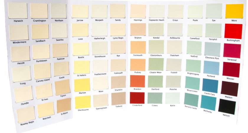 Nutshell Natural Paints Colour Charts None Toxic