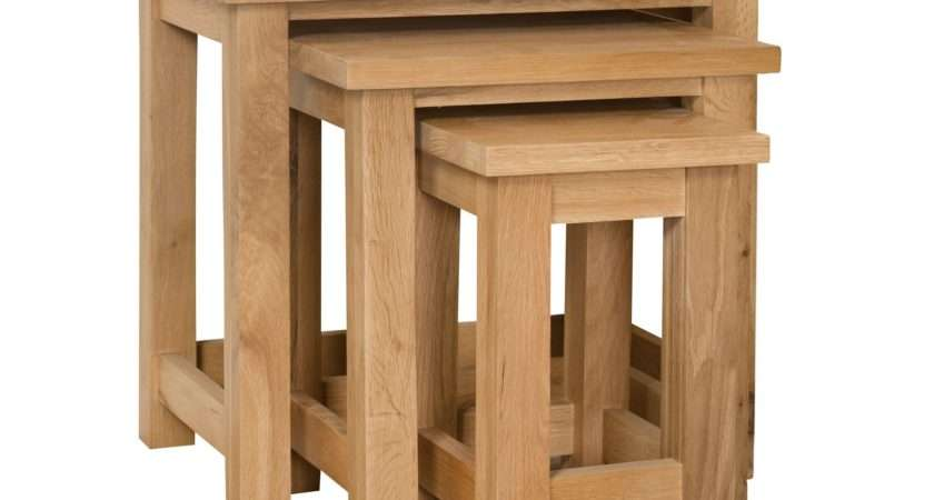 Oak Nest Tables Country Furniture Barn