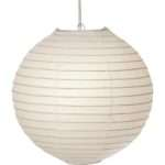 Oaks White Globe Paper Lamp Shade