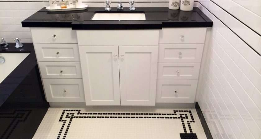 Obsessed Vintage Inspired Tile Pattern Floor
