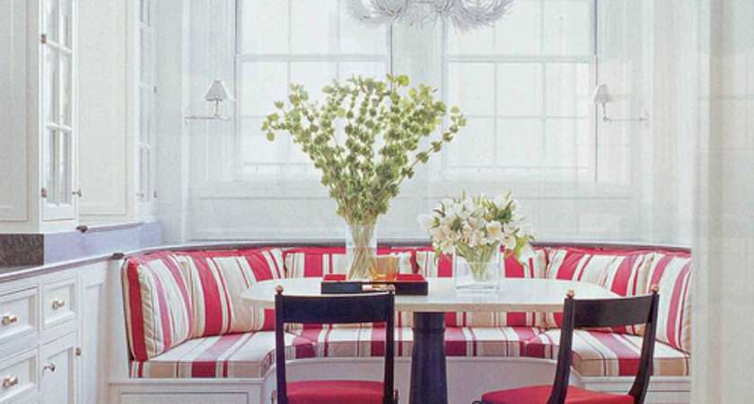 Obsessing Kitchen Banquette Elements Style Blog
