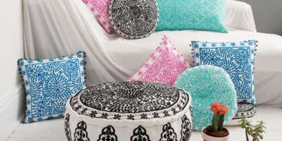 Off Bombay Duck London Floor Cushions Mon Pote