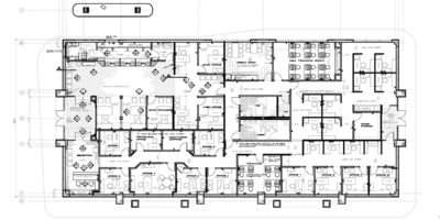 Office Design Layout Planning