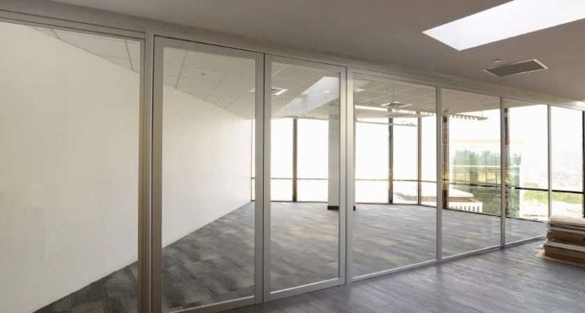 Office Room Dividers Glass Conference