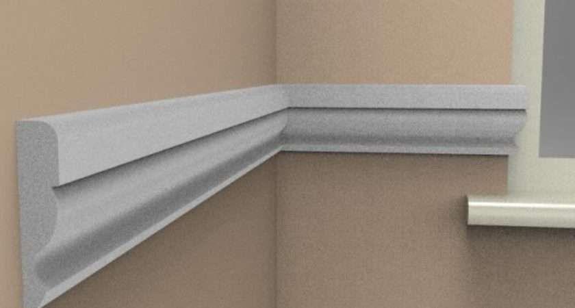 Ogee Dado Rail Top Quality Mdf Mouldings Skirting