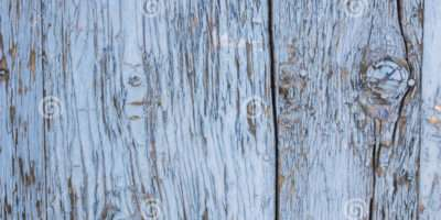 Old Blue Paint Mottled Wooden Then Doors