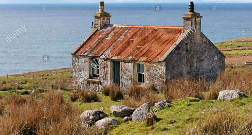 Old Croft House Melvaig Near Gairloch Wester Ross