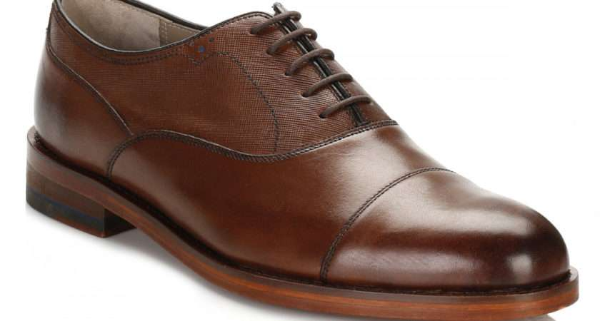 Oliver Sweeney Mens Brown Lupton Leather Shoes Luptonbrn