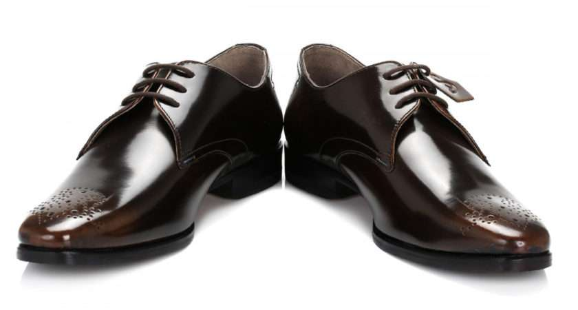 Oliver Sweeney Mens Brown Reeth Leather Shoes Reethsbrw