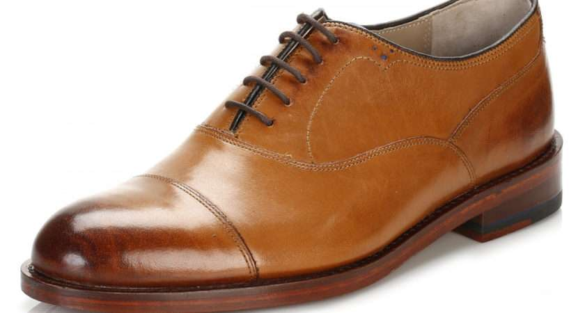 Oliver Sweeney Mens Tan Lupton Leather Shoes Luptontan