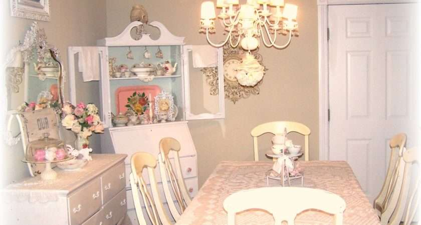 Olivia Romantic Home Shabby Chic Cottage Dining Room