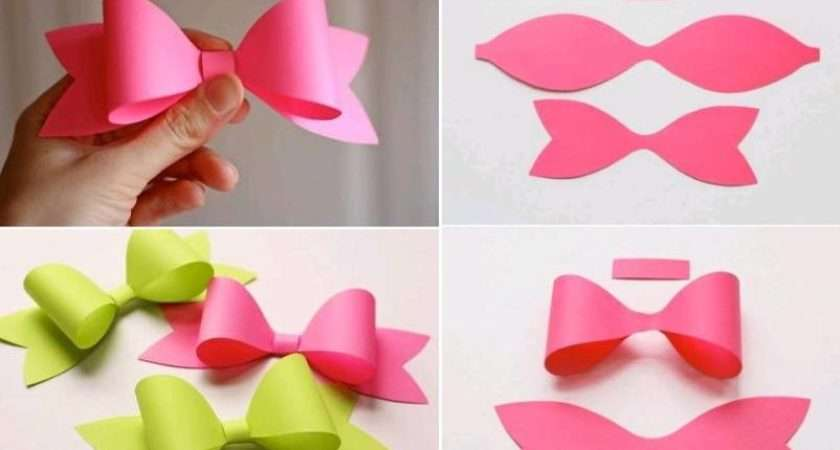One Response Make Paper Craft Bow Tie Step Diy
