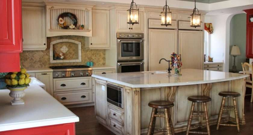 Open Country Kitchen Integrated Appliances