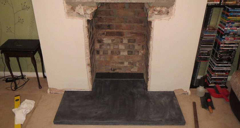 Opening Fireplace Homes Gardens Diy Pistonheads