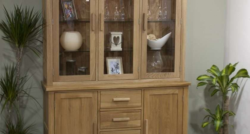 Opus Oak Display Unit Welsh Dresser Furniture