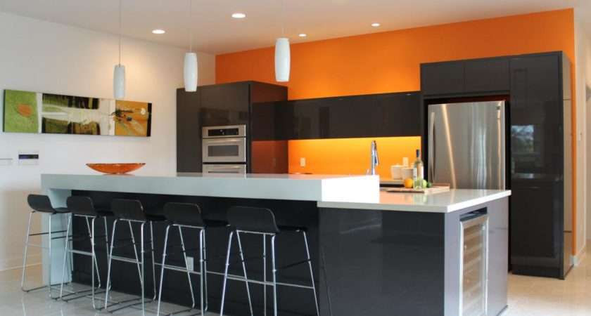 Orange Paint Colors Kitchens Ideas