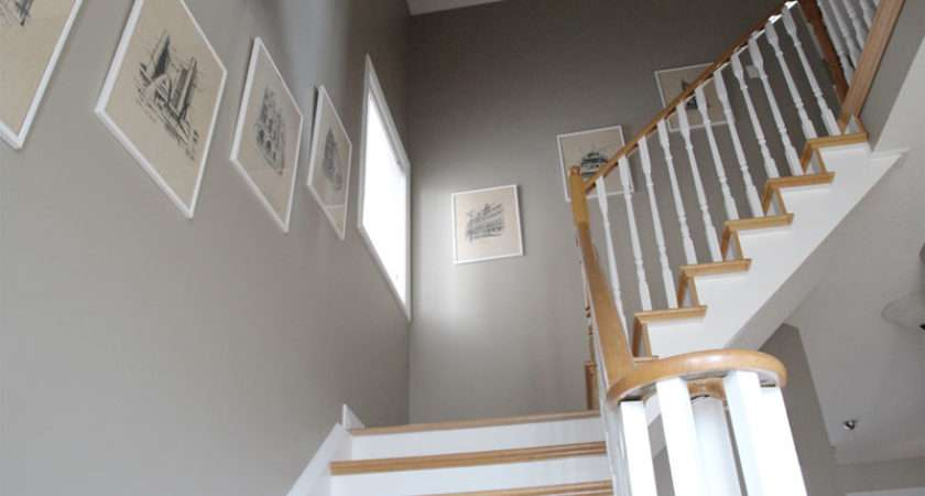 Ordinary Oak Simply White Staircase Reveal Pink