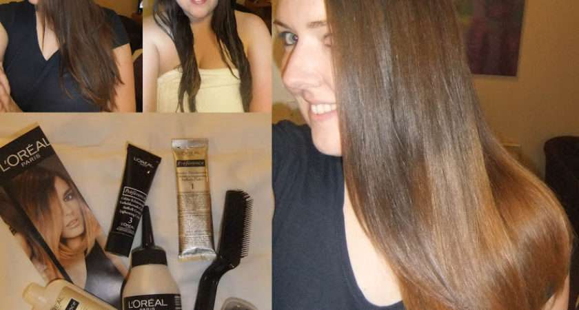 Oreal Preference Wild Ombr Dip Dye Your Hair Home Carina